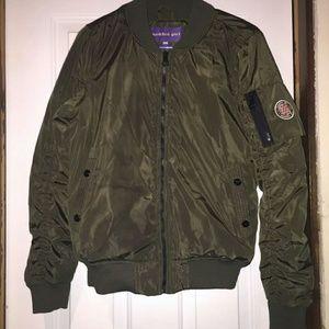 Madden Girl Juniors bomber jacket